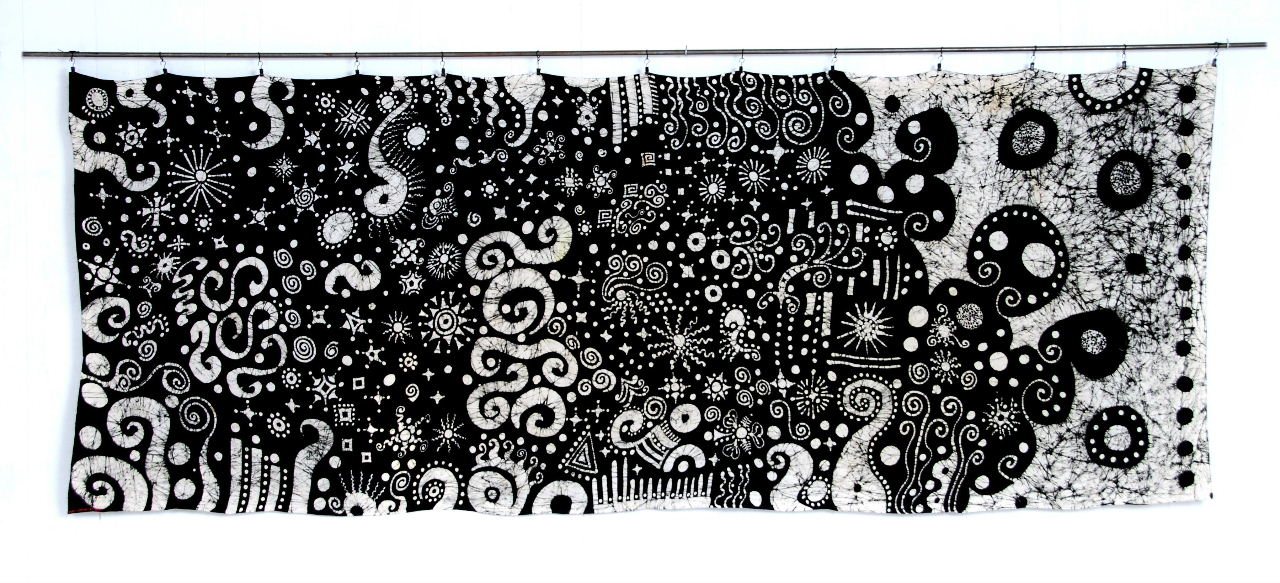 theme in black and white hanging - Decorative Art